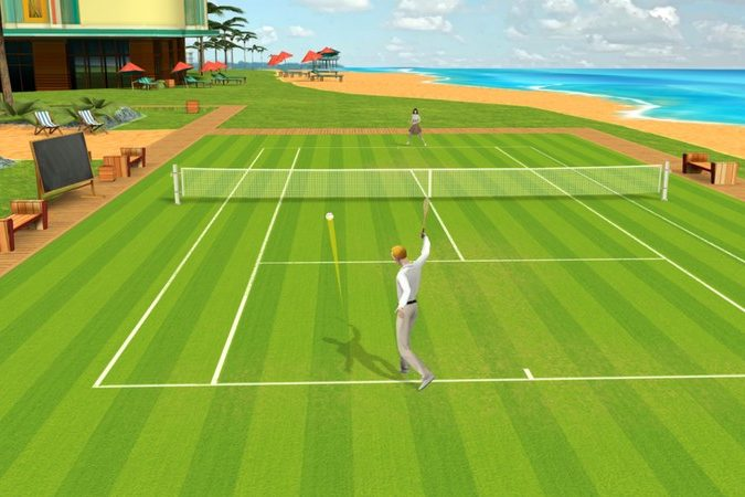 ios tennis game